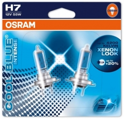 Osram COOL BLUE INTENSE H7 55W - 2ks
