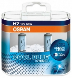 Osram COOL BLUE INTENSE H7 55W - SADA