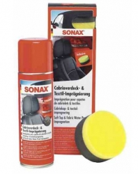 SONAX Impregnace kabrio, textil - spray 300 ml
