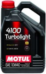 Motul - 4100 Turbolight 10W-40 5L