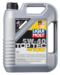 liqui moly motorov olej top tec 4100 5w 40. Black Bedroom Furniture Sets. Home Design Ideas