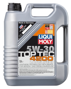 liqui moly motorov olej top tec 4200 5w 30. Black Bedroom Furniture Sets. Home Design Ideas
